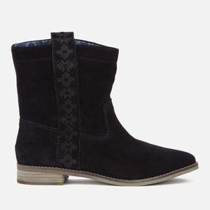 NEW Toms Laurel Suede Tribal Slouche Boots ❤